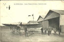 AVORD - Centre Militaire D'aviation - Sortie D'un Avion                                -- EMB 62 - Avord
