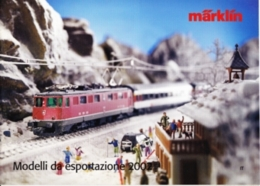 CATALOGO MARKLIN - MODELLI DA ESPORTAZIONE 2002 - Italia