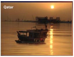 (828) Qatar - Fishing Boat - Qatar