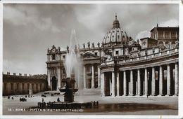Roma - Citta Del Vaticano - Piazza S. Pietro (Dettaglio) - Ediz. E. Verdesi - San Pietro
