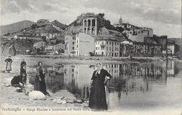 Ventimiglia - Borgo Marina E Lavandaie Nel Fiume Roia - Editora G. Gallo - Carte Non Circulée N° 1305 - Imperia