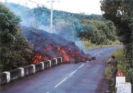 PIE-16 056 :  REUNION  COULEE VOLCANIQUE DE SAINT PHILIPPE  MARS 1986  VOLCAN - La Réunion