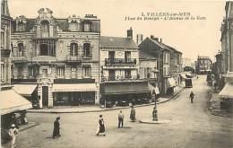 PIE-16 073 :  VILLERS SUR MER  PLACE DU BOURGET AVENUE DE LA GARE - Villers Sur Mer