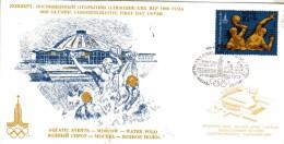 U R S S  MOCKBA  Water Polo  Jeux Olympiques 1980  24/03/78