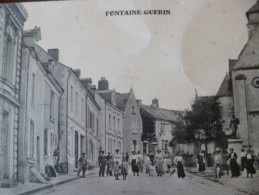 CPA 49 Maine Et Loire Fontaine-Guérin Animée - Frankreich