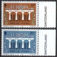 ILE OF MAN MI-NR. 261/62 ** MNH - CEPT 1984 (88) - Europa-CEPT