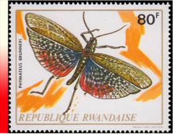 Rwanda 0510A** Insecte MNH - 1970-79: Neufs