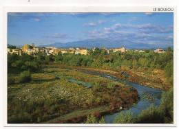 LE BOULOU--1997--Vue Générale,rivière Tech,au Fond Le Canigou (2785m) ,cpm  N°??? éd Objectif Sud...à Saisir- - Autres Communes