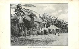 A SIDE STREET SCENE AT BONTHE SHERBRO - Sierra Leone