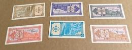 Géorgie : 5 Billets, 1/3/5/10 & 50 Laris Type 1993 - Géorgie
