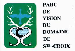 Rhodes - Parc De Vision Du Domaine De Sainte Croix - Carte Autocollant - Sticker - Autres Communes