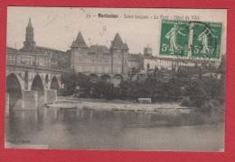 Montauban  -- St Jacques -- Le Pont Et L Hôtel De Ville - Montauban