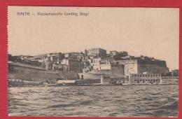 Malta  --  Marsamuscetto Landing Stage - Malte