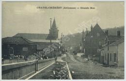 Châtel-Chéhéry. - Grande Rue. - Unclassified