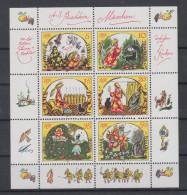 DDR  Jahrgang 1984 Kleinbogen Märchen Von Der Toten Zarentochter Und Den 7 Recken Postfrisch - Blocs
