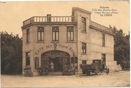 Rabosée NA1: Café Des Quatre-Bras 1937 - Somme-Leuze