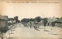 BAMAKO UNE RUE DU QUARTIER INDIGENE - Mali