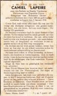 Kachtem, Izegem,1938, Camiel Lapeire, Olivier - Images Religieuses