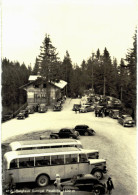 Suisse - Gantrischgebiet - Berghaus Gurnigel Passhöhe - Bus - Autocar - Voiture Ancienne - BE Berne