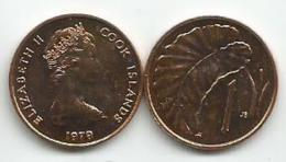 Cook Islands 1 Cent 1979. KM#1 - Cook