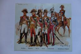 IMAGE - HISTOREX - FRANCE - MARECHAUX D'EMPIRE - BERTHIER, BESSIERES, MURAT, SOULT, PONIATOWKI - 1er EMPIRE - Figurines