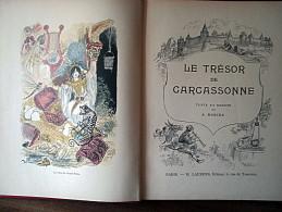 A.ROBIDA LE TRESOR DE CARCASSONNE 1926 - 1901-1940
