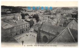 29 QUIMPER - Place St-Corentin Et Vue Panoramique - Quimper