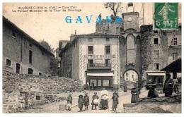 43 ALLEGREE - Cure D'air - Le Portail Monsieur Et La Tour De L'horloge - France