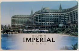 TURKEY Hotel Keycard - Delphin Imperial ,used - Hotelkarten
