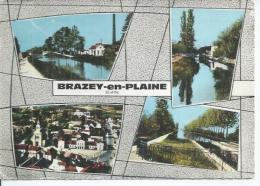 4 - BRAZEY-EN-PLAINE  ( 4 VUES ) - France