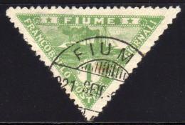 FIUME 1920 - MiNr: 96 Used - 8. WW I Occupation