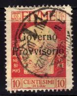 FIUME 1921 - MiNr: 115 III Used - 8. WW I Occupation