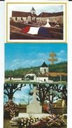 CPM  52 Colombey Les 2 Eglises Lot 5 Cartes Dont Une Double Datée Du 12 11 1970 3 Neuves 2 écrites TBE - Colombey Les Deux Eglises