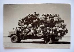 43 DEPARDON .R Photomania - SAHARA 1978 - Camion Bien Chargé - Western Sahara