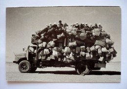 43 DEPARDON .R Photomania - SAHARA 1978 - Camion Bien Chargé - Sahara Occidental