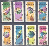 Burundi  Michel #   167 - 74  ** - Space