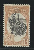 1903 - COTE DES SOMALIS - YVERT N°66 * CENTRE RENVERSE - Côte Française Des Somalis (1894-1967)