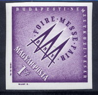 HUNGARY 1963 Budapest Fair Imperforate  LHM / *.  Michel 1919B - Hungary
