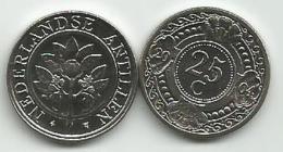 Netherland Antilles 25 Cent  Cents  2004. UNC KM#35 - Antillen (Niederländische)