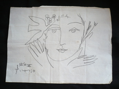Pablo Picasso Zeichnung (104) - Andere Sammlungen