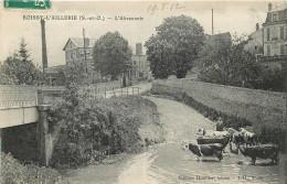 95 - BOISSY L´AILLERIE - Abreuvoir - Boissy-l'Aillerie
