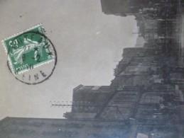 Carte Photo 92 Hauts De Seine Putaux Inondation De 1910 Rue De Paris - Puteaux