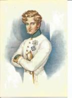 PORTRAIT DU DUC DE REICHSTADT. Fils De Napoléon Ier (l'Aiglon) Peint Par Daffinger (1832). (scan Verso) - Pintura & Cuadros