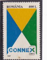 #144    CONNEX, NETWORK, 1997, MNH**, ROMANIA. - 1948-.... Républiques