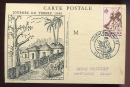 CP - AOF - Journée Du Timbre 1946 - - A.O.F. (1934-1959)