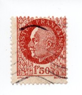 YT 517 - Pétain - Variété Multiples - Flamme - Variétés Et Curiosités