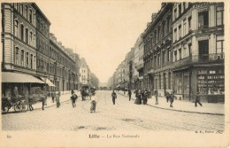 59 LILLE - LA RUE NATIONALE - Lille