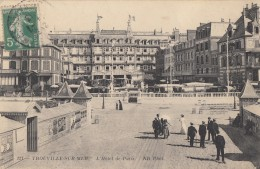 CPA - Trouville Sur Mer - L'Hôtel De Paris - Trouville