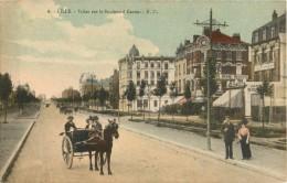 59 LILLE - VILLAS SUR LE BOULEVARD CARNOT ( CPA COLORISEE ) - Lille