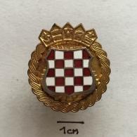 Badge (Pin) ZN002339 - Military (Army) Police War Insignia Croatia (Hrvatska) - Militari